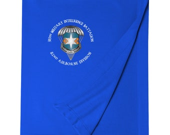 313th Military Intelligence Battalion (Airborne) Embroidered Blanket-3482
