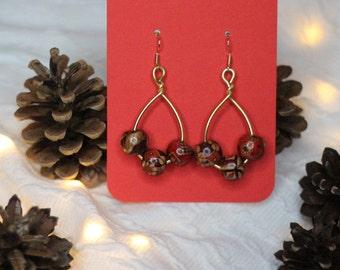 DropPop Earrings Medium Gold