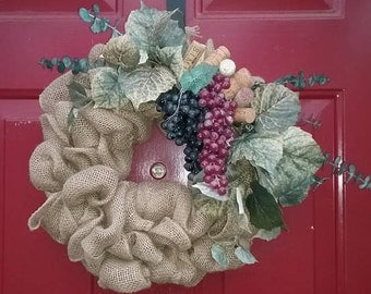 Beautiful handcrafted wreaths. Each one is created personally for you.