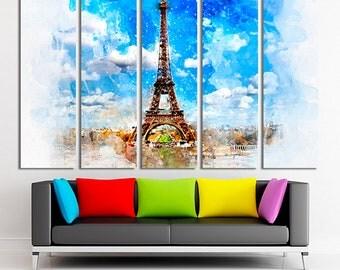Paris wall art Paris canvas Paris decor Paris photo Paris print Paris poster Eiffel Tower art Eiffel Tower canvas Eiffel Tower wall art