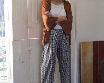 Josephine gingham pyjama bottoms