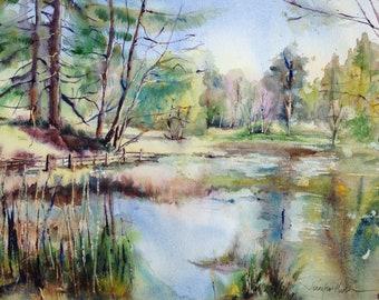 Original Watercolour - Lake District
