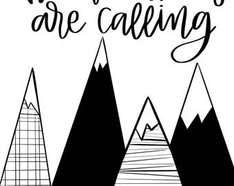 The Mountains are Calling Digital Download