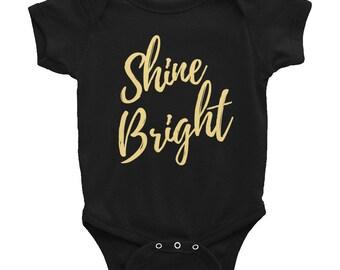 Shine Bright Infant Bodysuit