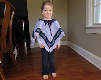 3T-4T One Size Poncho