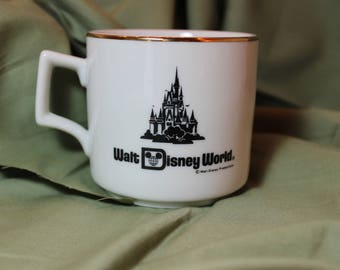Vintage Walt Disney World Mug 1982