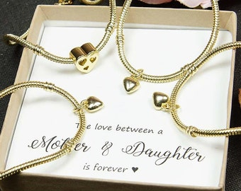 Mother daughter jewelry mother 2 3  daughters mother of two three daughters mother daughter matching bracelet set mother daughter bracelet