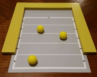 Mini Chillaball Indoor Tabletop Game-Set, Yellow