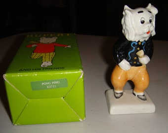 Rupert and his Friends - Pong Ping Figurine