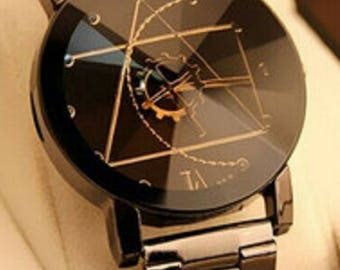 Men Personalized Design Stainless Steel Watch