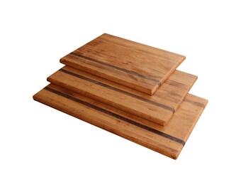 Matching Cutting Board Set (Pecan & Cherry)