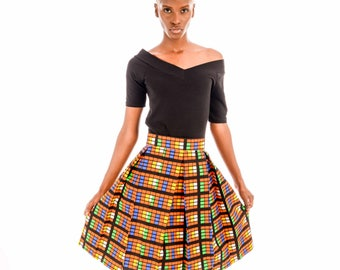 Tekle Pleated Skirt