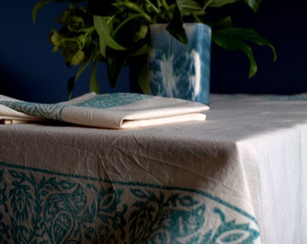 Blue Bird Tablecloth