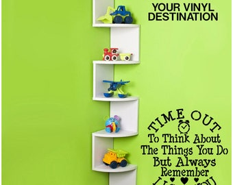 Time Out Wall Decal