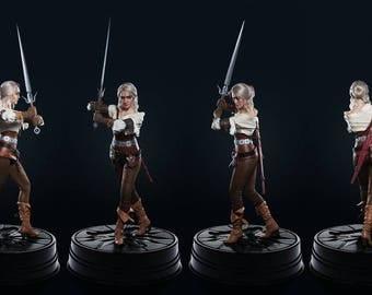 Ciri's Figure Cosplay - The Witcher 3 - Print