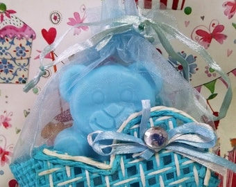 Soap Bear Christening