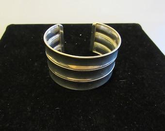 large bracelet marked 925