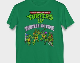 TMNT Turtles In Time SNES T-Shirt