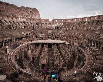 Canvas - The Colosseum - Rome
