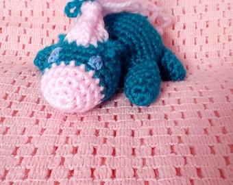 blue horse plushie