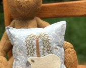 kit; sweet spring sheep pillow, sweet and easy!