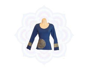 SALE* Organic clothing - Organic mandala top Handmade to order with organic cotton and hemp jersey - Mandala print