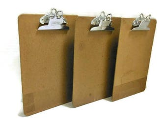Small Vintage Clipboards