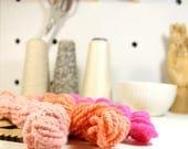 zing  ... handspun yarn set, weaving creative yarn bundle, hand spun, hand dyed yarn, handspun art yarn