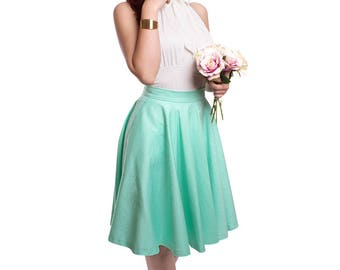 BETTY_37 Wedding Circle Skirt - MINT