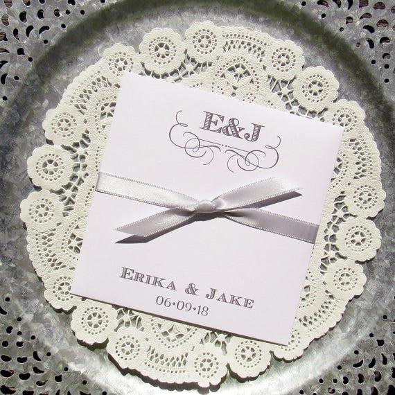 Monogrammed Wedding Favors - Rehearsal Dinner Favors - Engagement ...