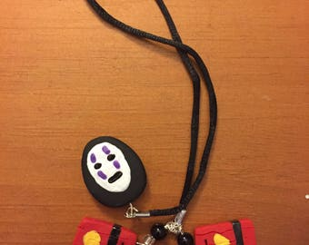 Spirited Away No Face Cord Bookmark