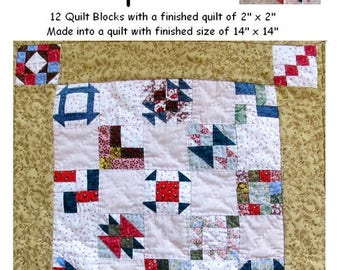 Little Lady Sample Quilt Pattern PDF