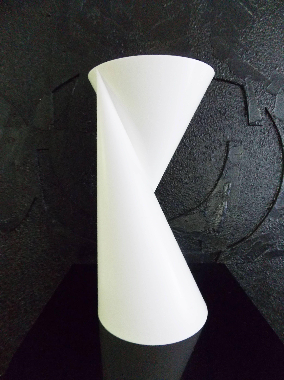 Dutch modernist two sided white vase signed dutch design dutch modernist two sided white vase signed dutch design sculpture vase2 paul baars reviewsmspy