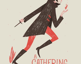 A Gathering of Shadows - Print