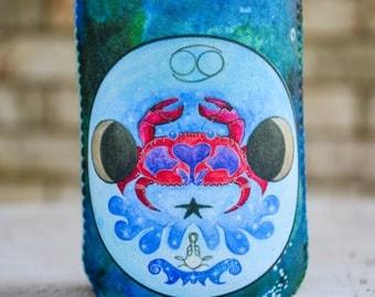 Crab Drink Insulator - Beverage Insulator - Bottle Cover - Pop Bottle Cover - Zodiac Gifts for Cancer - Bottle Insulator - Bottle Hugger