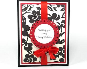 Happy Birthday card, Birthday card for her, Handmade birthday cards, Mom's birthday card, Handmade cards birthday, bella card creations