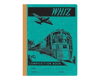 Whiz Vintage Style Composition Book