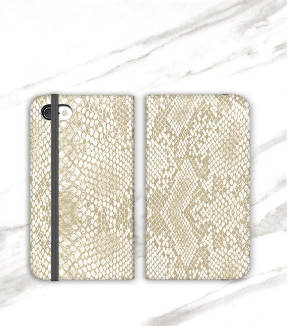 Blond Snake Print Case