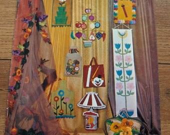 1967  patterns Fun With Felt decor children