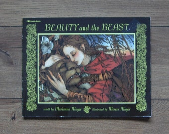 vintage 1978 children book Beauty and the Beast by Marianna and Mercer Mayer sc guc