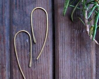 Voyage - Threader Style Earrings - Minimalist Threader Style Earrings - Lightweight Earrings