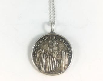 Gloucester Necklace, Gloucester Charm, Gloucester Gift, Gloucester Jewelry, England Necklace, England Charm, England Gift,Wife Gift