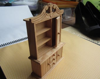 Miniature Dololhouse Display Cabinet. Unpainted. No 328