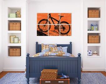 Mountain Bike - Mountain Biker Gift - Bicycling Gift Ideas - Mens Cyclist Gift - Mountain Bike Art - Gift Mountain Bike - Wall Art Bike