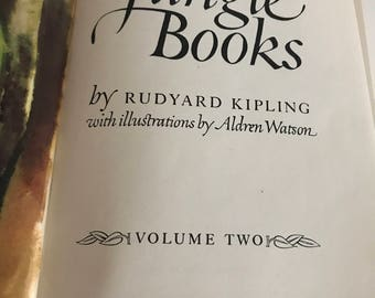 1948 Rudyard Kipling The Jungle Books Volume 2 Rikki-Tikki-Tavi