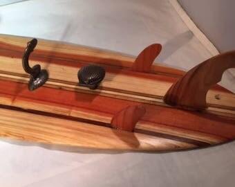 Handmade Surfboard Wall Hangers