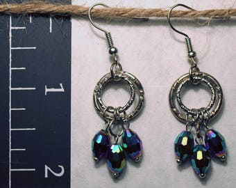 Beautiful Handmade Vintage Earrings