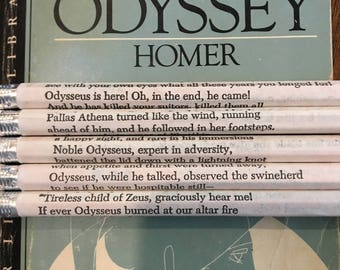 The Odyssey Wrapped Pencil Set