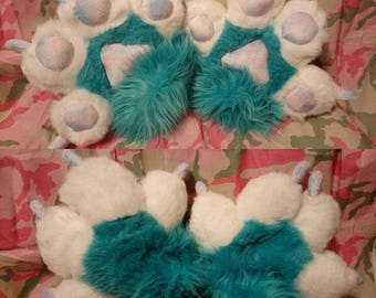 Cotton Candy Hand Paws