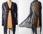 Early 1900's Edwardian Soutache & Net Jacket